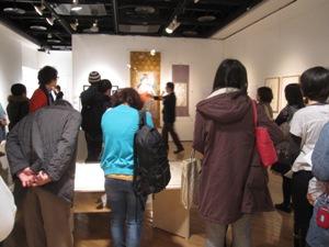 『青森県立美術館展 コレクションと空間、そのまま持ってきます』ギャラリートーク/レポートその③_f0023676_13235939.jpg