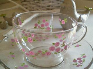 ガラスのカップ&ソーサー_f0255704_14474235.jpg