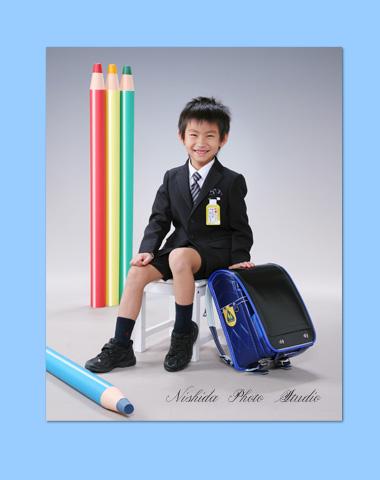 入学写真 ~小学校ご入学~_e0275450_1401867.jpg