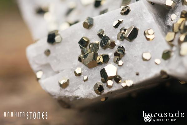 パイライトオンカルサイト原石(モロッコ産)_d0303974_17434576.jpg