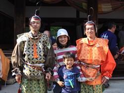 上賀茂神社の競べ馬、絵巻物の世界そのままに♪_b0067283_1945193.jpg