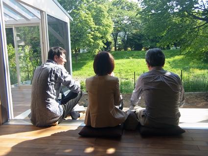 完成見学会をおこないました@所沢_a0148909_1757638.jpg
