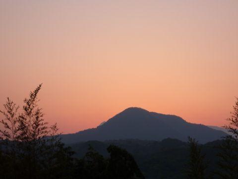 高崎山の夕焼け_c0177195_937582.jpg