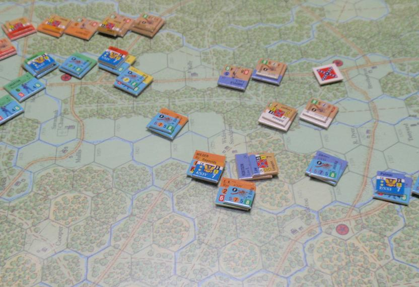 GMT「Glory」より「チカモーガの戦い」をソロプレイ⑥_b0162202_18414870.jpg