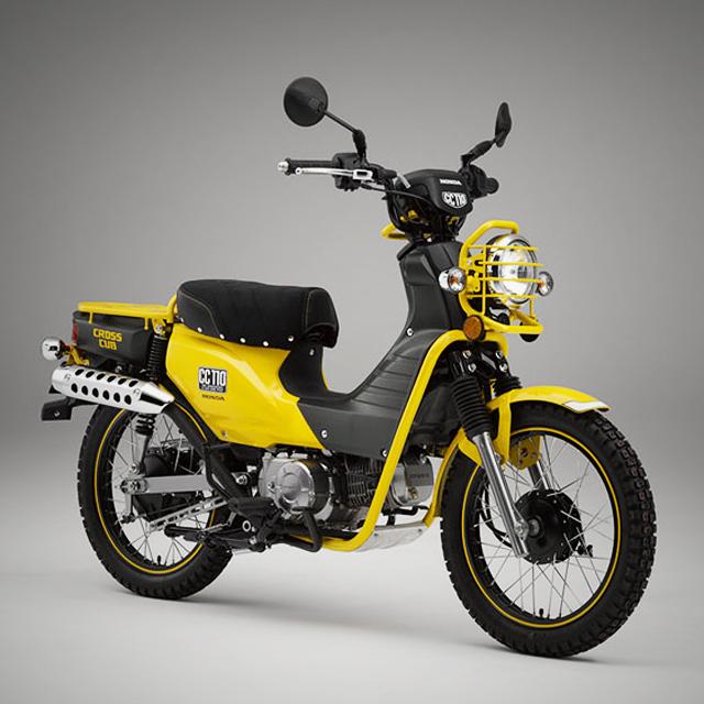X100S × Honda Super Cub_b0213320_13112762.jpg
