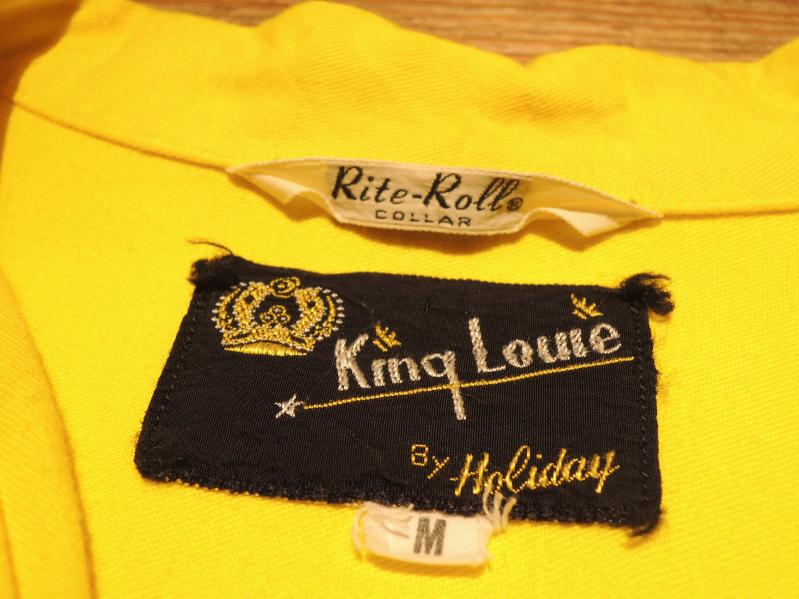 50\'s KING LOUIE BOWLING SHIRT--RECOMMEND--_c0176867_19201031.jpg
