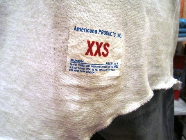 "Americana \""BASEBALL S/S TEE\"" ご紹介_f0191324_8354240.jpg"