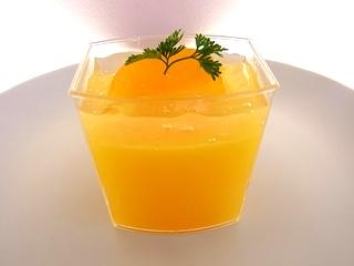 新作メニュー~清見オレンジのゼリー~_e0211448_16564128.jpg