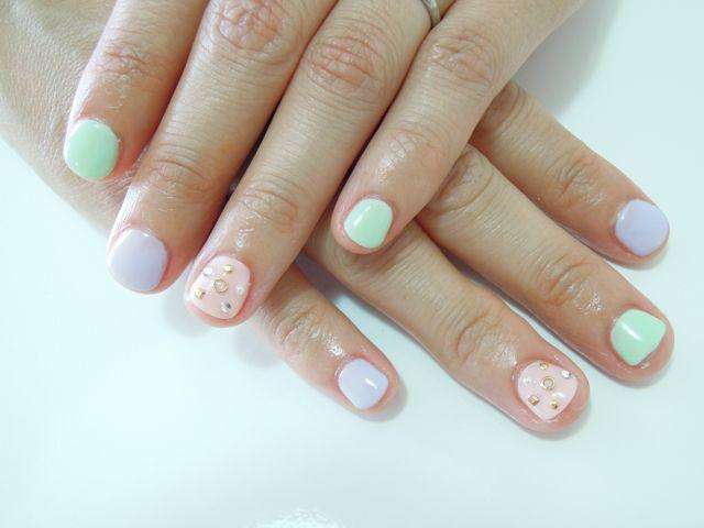 Pastel Nail_a0239065_18455725.jpg
