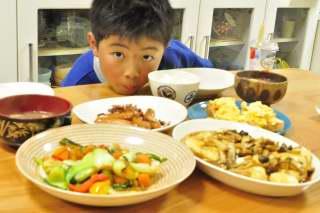 母の日週間 本日開店「息子レストラン」_b0171098_68643.jpg