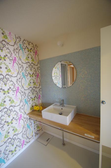洗面室と遊び心/南行徳Y邸_c0004024_10153542.jpg
