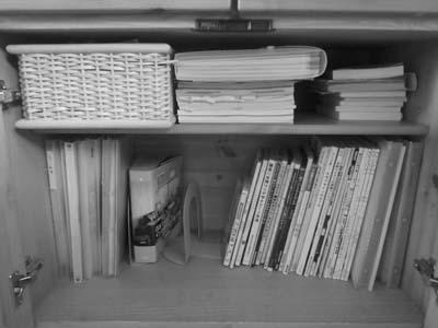 無印良品の収納用品で本の整理収納_c0293787_109431.jpg