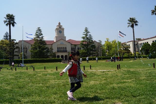 夢を現実にする関西学院大学、孫娘と関西学院大学へ、日本・韓国・中国の環境協力、復興策に日本木材を_d0181492_11113492.jpg