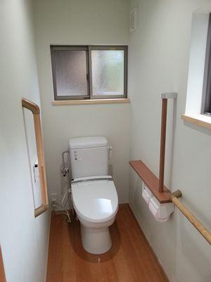 G様邸トイレ工事完成_c0273695_23383463.jpg