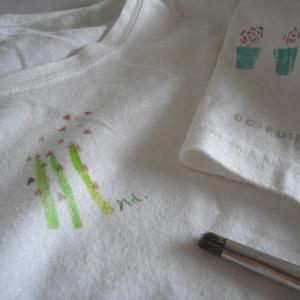Tシャツにステンシル_c0138704_22483870.jpg