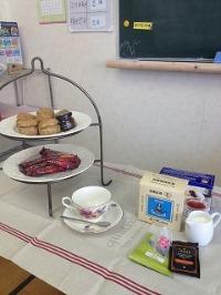 見晴台学園さんで「 紅茶 」の授業を担当。_c0007919_8483361.jpg