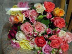 バラの花束_e0099359_10264237.jpg