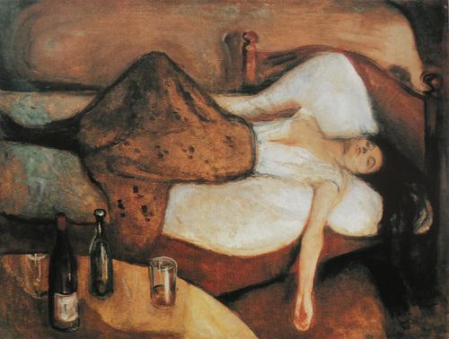 そのあくる日 ムンク 1894-95 : 美術の時間