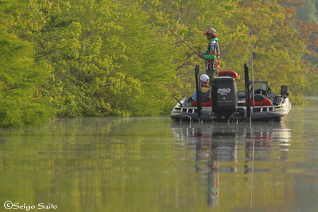 Bassmaster Elite Series #5 Alabama River, AL 初日_a0097491_943199.jpg