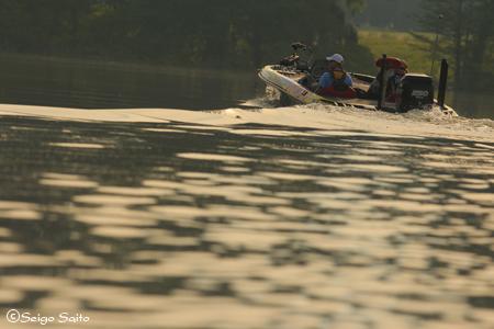 Bassmaster Elite Series #5 Alabama River, AL 初日_a0097491_951195.jpg