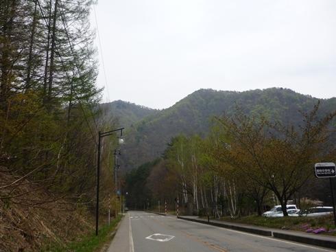 舘岩中学校から見える新緑_f0227395_1532773.jpg
