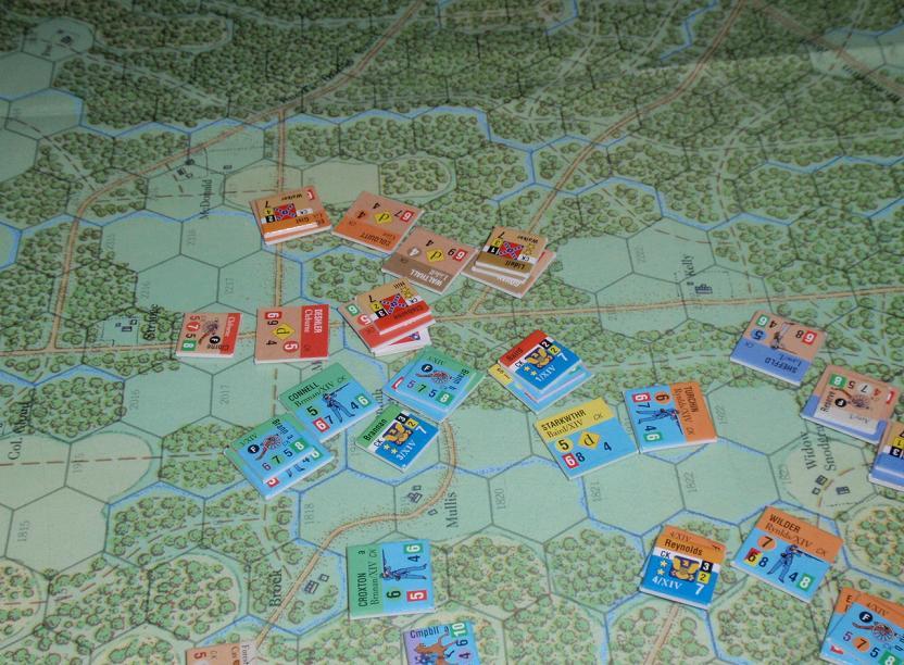 GMT「Glory」より「チカモーガの戦い」をソロプレイ⑧_b0162202_15488100.jpg