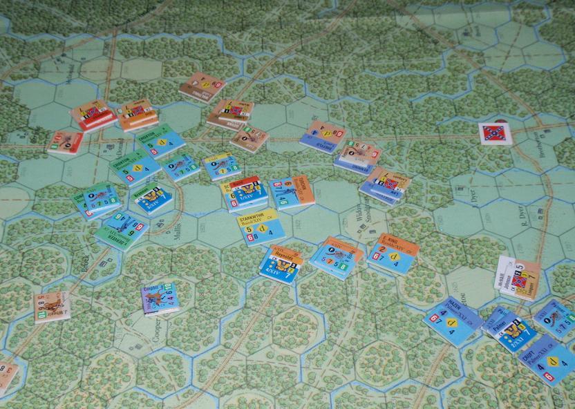 GMT「Glory」より「チカモーガの戦い」をソロプレイ⑧_b0162202_15491610.jpg