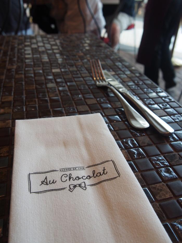 2013 4月 シンガポール (14) マリーナベイサンズで一杯@au chocolat_f0062122_12203215.jpg