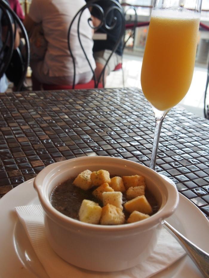 2013 4月 シンガポール (14) マリーナベイサンズで一杯@au chocolat_f0062122_12282651.jpg