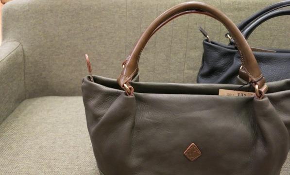 クレドランらしい凛々しい革トートバッグです。_c0227633_2117322.jpg