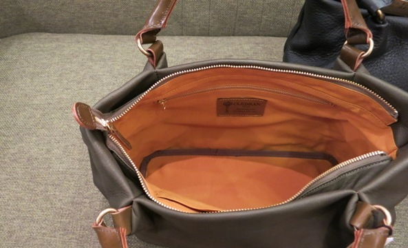 クレドランらしい凛々しい革トートバッグです。_c0227633_21175282.jpg