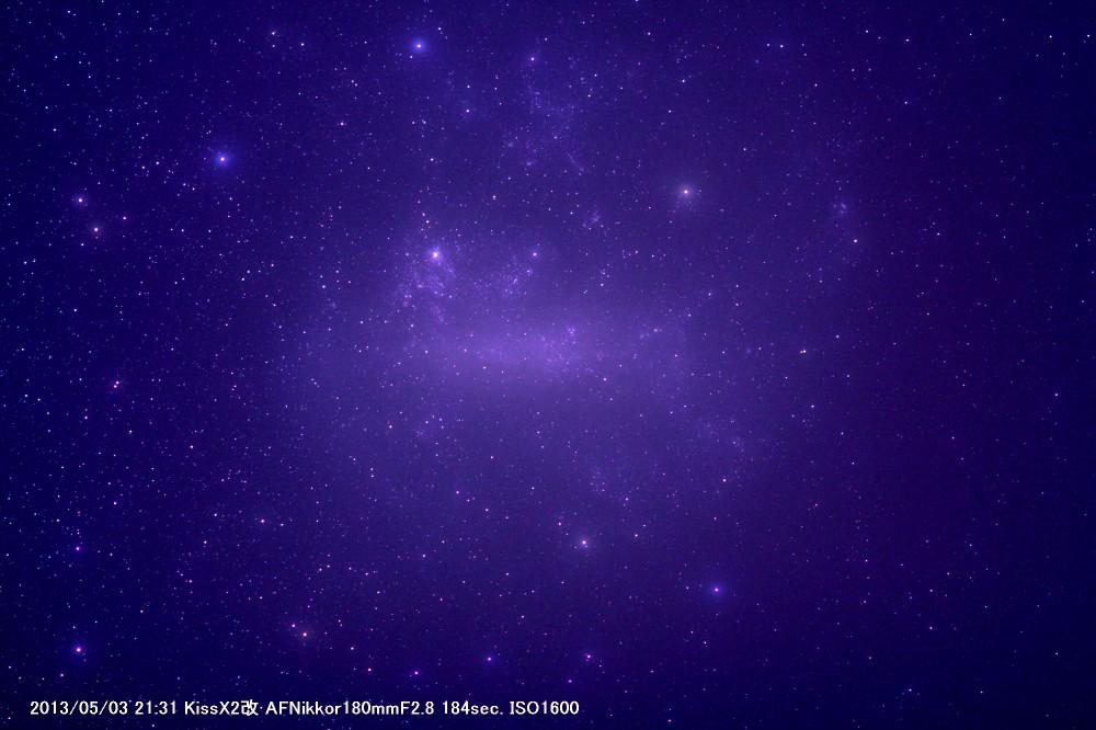 大マゼラン雲(薄雲あり)_a0095470_15492230.jpg