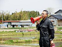 田植え体験(上目黒小・枝野小)_d0247484_2072577.jpg