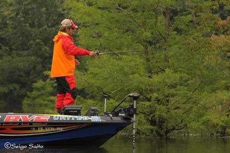 bassmaster Elite Series #5 Alabama River, AL 2日目_a0097491_9485150.jpg