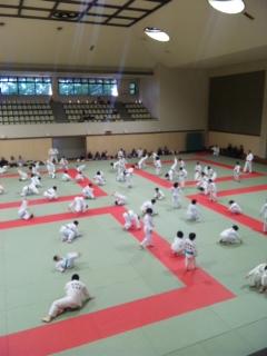 合同練習in福岡武道館_b0172494_19261768.jpg