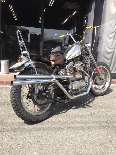 \'58XLCH chromed chopper_a0165898_0273838.jpg