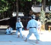 平成25年度 護山神社春祭 空手奉納_d0010630_1618269.jpg