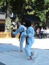 平成25年度 護山神社春祭 空手奉納_d0010630_1620586.jpg