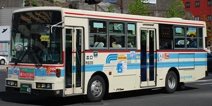 佐世保市交通局の富士重工架装車 _e0030537_2194237.jpg