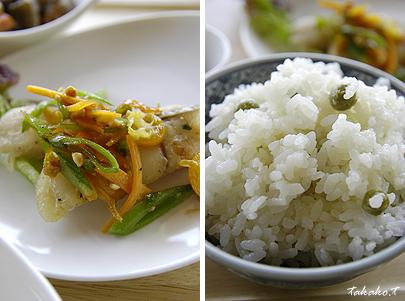 旬の有機野菜をたっぷり使ったお料理♪_c0070460_21254023.jpg