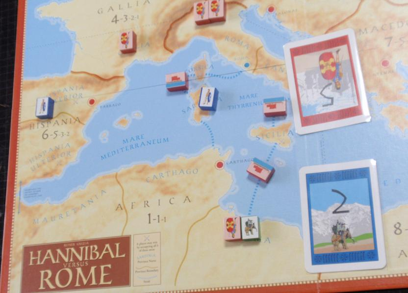GMT「ROME」より「HANNIBAL VS ROME」」を対戦_b0162202_190730.jpg