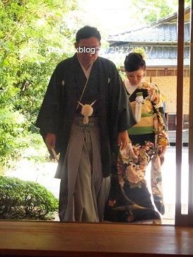 友人の和装結婚式_e0214646_11205263.jpg