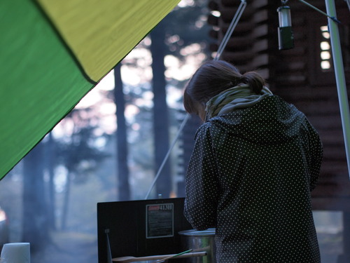 mt.fuji camp  外ごはんその1_e0243765_1343499.jpg