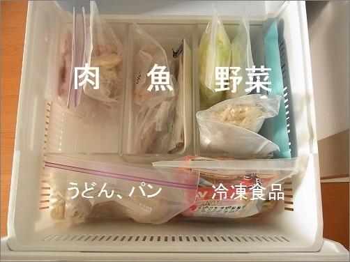 【 冷凍庫内は、在庫を「見渡せる化」する 】_c0199166_21284024.jpg