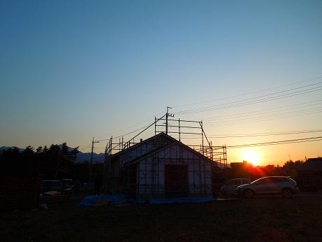 高根町Yさん邸の現場より 20_a0211886_22485346.jpg