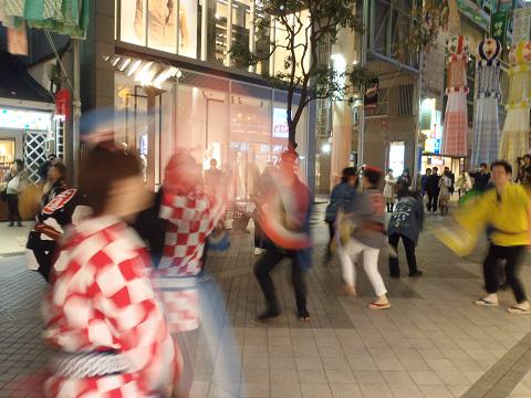 山鉾前演舞_b0074601_2232139.jpg