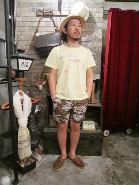 "AmanjaKania ""ColorNep HAWAII Tee\"" ご紹介_f0191324_8474584.jpg"