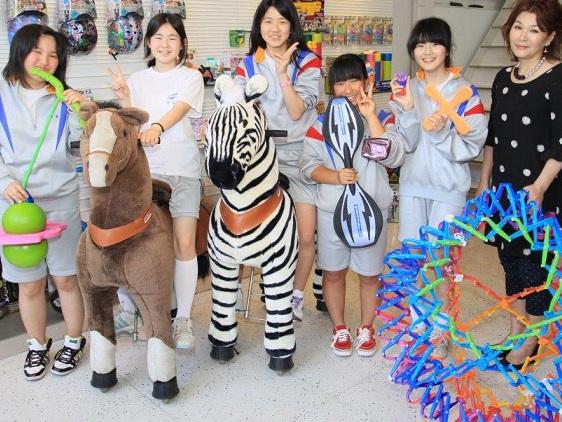仙台市立柳生中学の修学旅行、生徒たちの訪問先ラングスジャパン_d0148223_2394559.jpg
