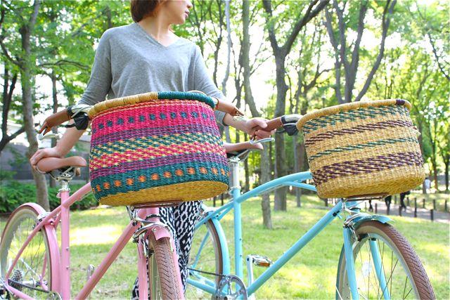 アロハロコ Asungtaba Bike Basket おしゃれカゴ バスケット_b0212032_21214398.jpg