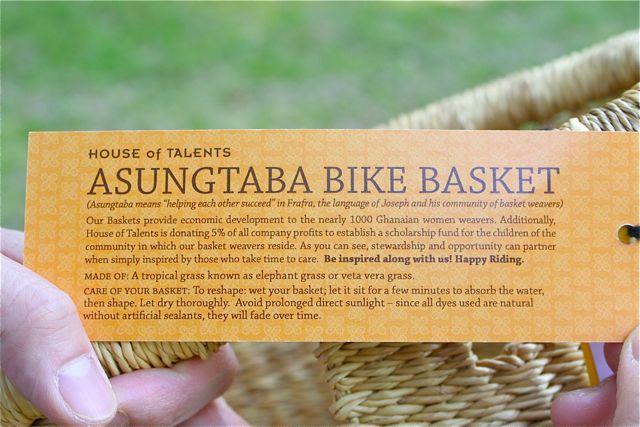アロハロコ Asungtaba Bike Basket おしゃれカゴ バスケット_b0212032_2124375.jpg